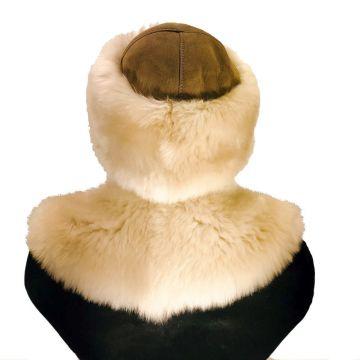 Lamb fur roll collar - 03