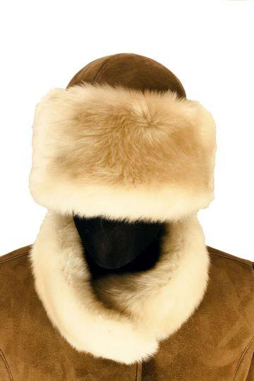 """Lamb fur """"Tatar"""" cap - 01"""