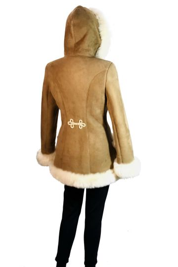 'Mathilde' lambskin coat - 02