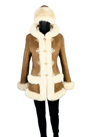 'Mathilde' lambskin coat - 03