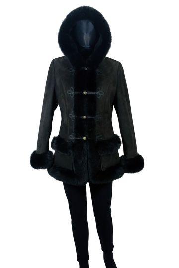 'Mathilde' lambskin coat - 04