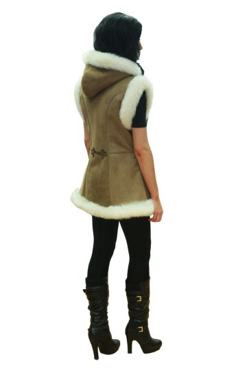 'Mente' decorated lambskin waistcoat - 02
