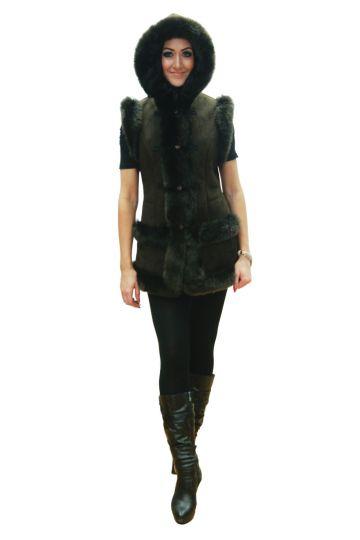 'Mente' decorated lambskin waistcoat - 06