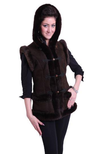 'Mente' decorated lambskin waistcoat - 07
