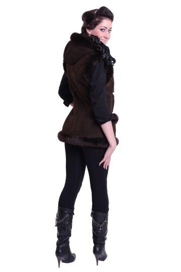 'Mente' decorated lambskin waistcoat - 08