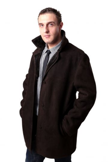 'Laci' lambskin coat - 01