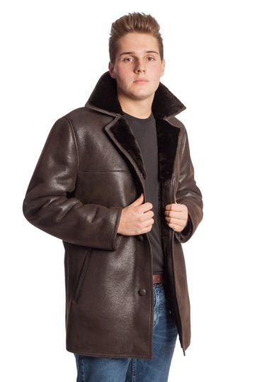 'Laci' lambskin coat - 02