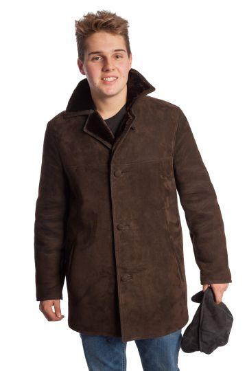 'Laci' lambskin coat - 10