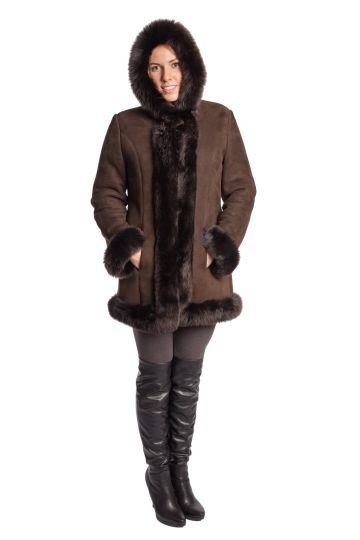 Short 'Nóra' lambskin coat - 09