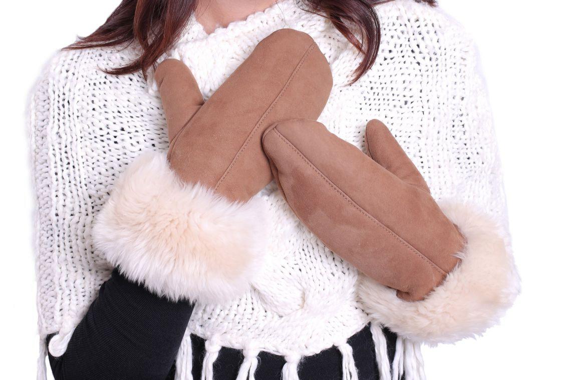 One-finger lambskin gloves - 02